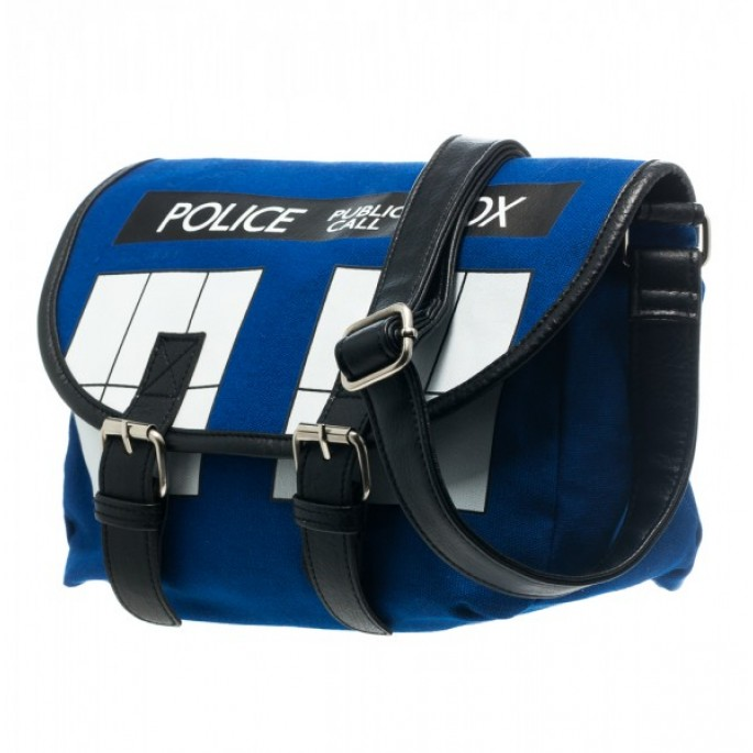 Doctor Who Tardis Cross Body Bag