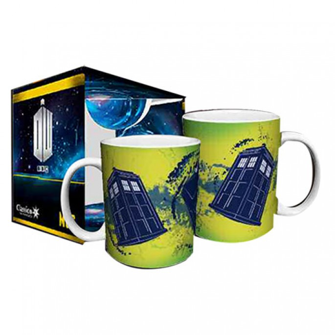 Doctor Who Tardis Taking Off Boxed Gift Mug
