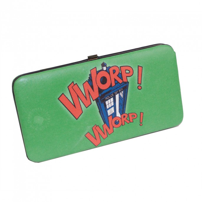 Doctor Who Vworp Vworp Hinge Wallet
