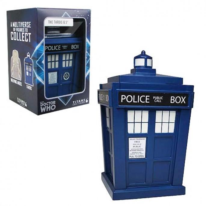 Doctor Who Titans TARDIS 6 1/2-Inch Vinyl Figure