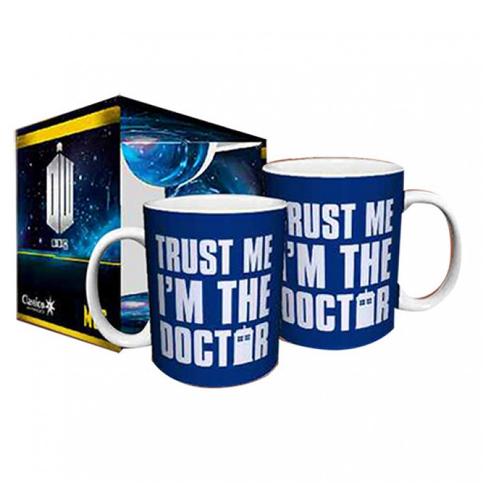 Doctor Who Trust Me I'm The Doctor Boxed Gift Mug