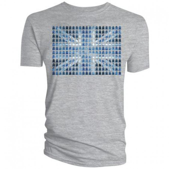 Doctor Who: Union Jack TARDIS Adult T-Shirt