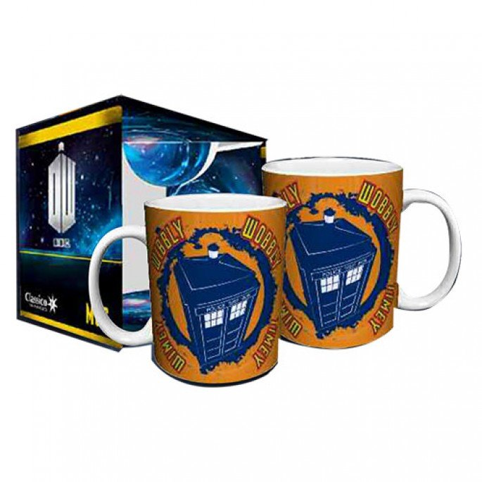 Doctor Who Wibbly Wobbly Timey Wimey Boxed Gift Mug