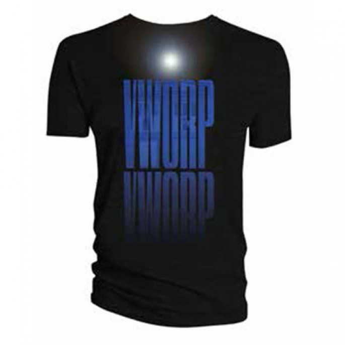 Doctor Who Tardis Worp Worp Black Adult T-Shirt