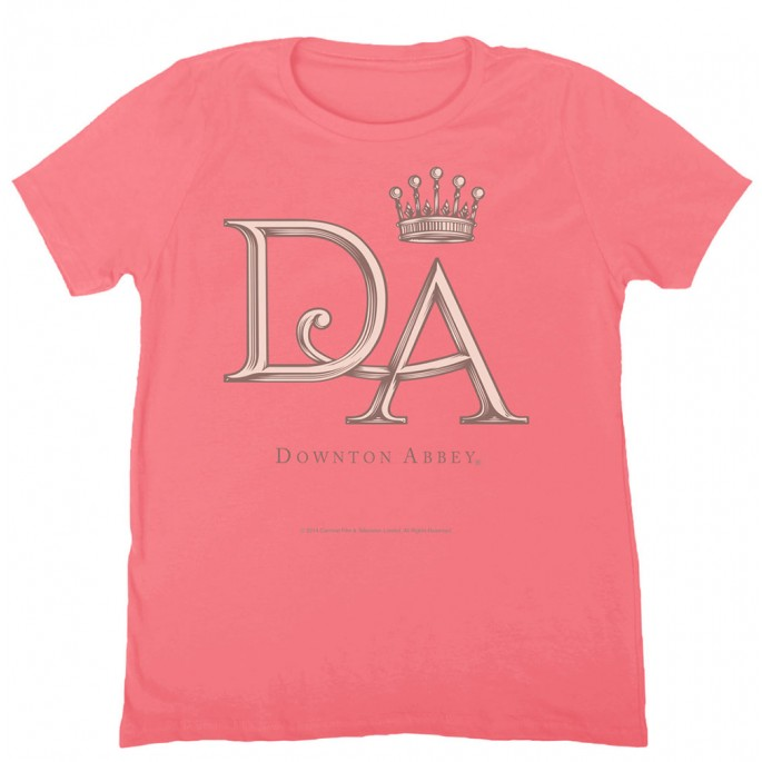 Downton Abbey DA Official Crest Women's T-shirt