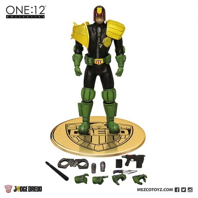 Mezco Judge Dredd 1:12 Scale Action Figure