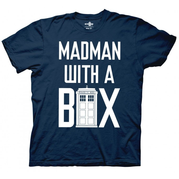 Doctor Who Madman with a Box Adult T-Shirt