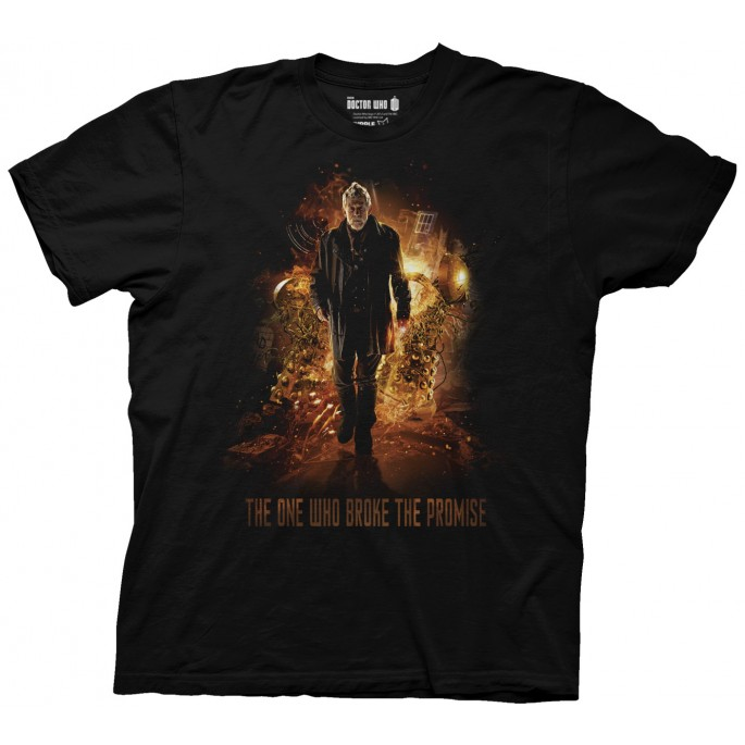 Doctor Who The One Who Broke The Promise Adult T-Shirt