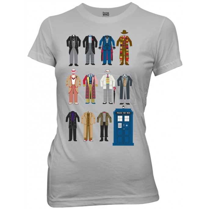 Doctor Who Doctor Outfits Women's / Juniors T-Shirt
