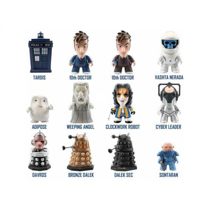 Doctor Who Titans 10th Doctor Series  (Set of 5)