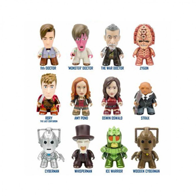 Doctor Who Titans Geronimo Collection (Set of 5)