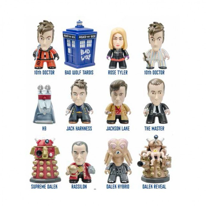 Doctor Who Titans Galifrey Collection (Set of 5)