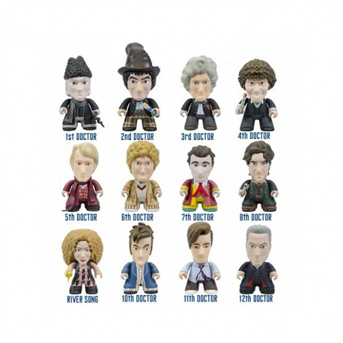 Doctor Who Titans The Regeneration Collection Vinyl Figure (Random)