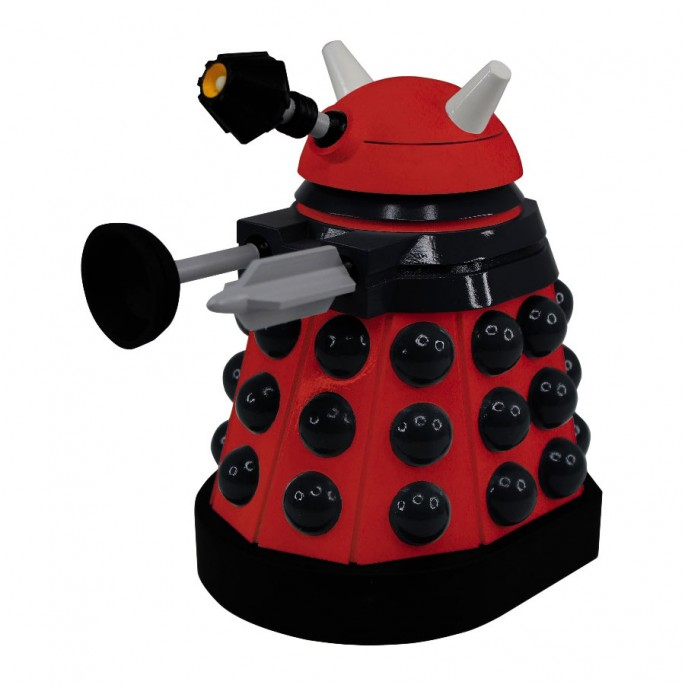 Doctor Who Titans Red Drone Paradigm Dalek Vinyl Figure