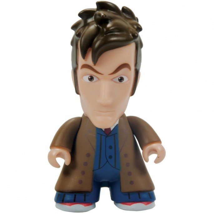 Doctor Who Titans 10th Doctor Long Coat 6 1/2-Inch Vinyl Figure