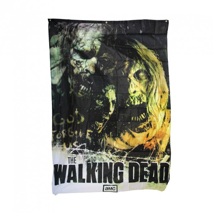 The Walking Dead Walkers Eight Foot Banner