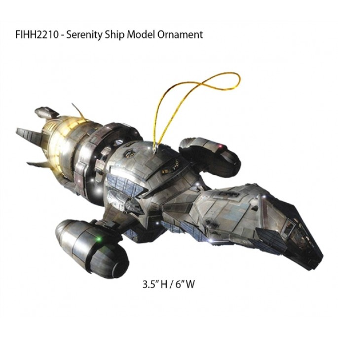Firefly Ship Model Ornament