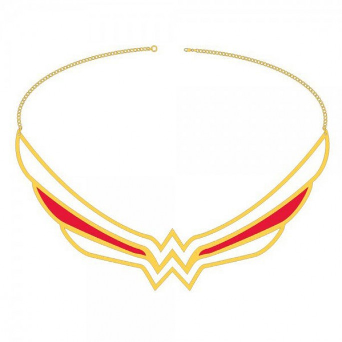 DC Comics Wonder Woman Collar Necklace