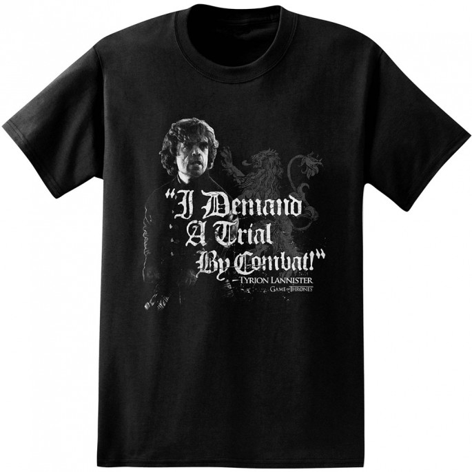 Game of Thrones I Demand trial By Combat Adult T-Shirt
