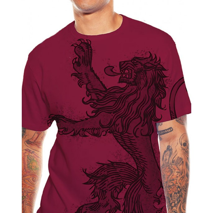 Game of Thrones Lannister Lion Adult T-Shirt
