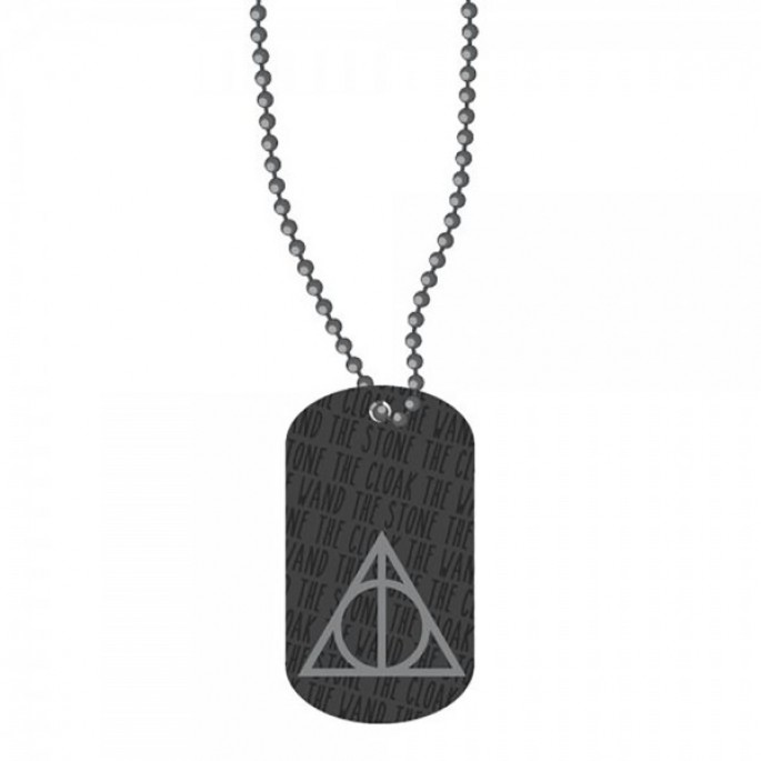 Harry Potter Deathly Hallows Dog Tag