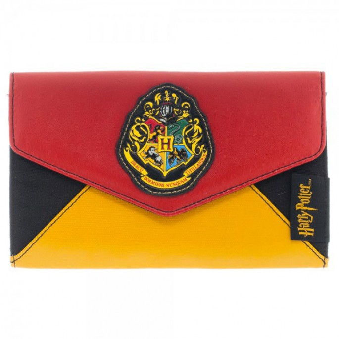 Harry Potter Hogwarts Crest Envelope Wallet