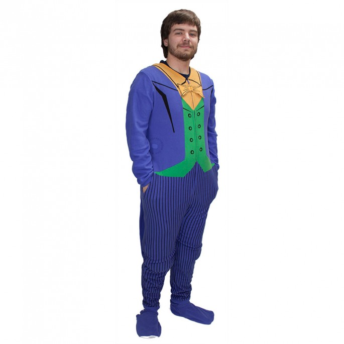 Batman Joker Union Suit Large