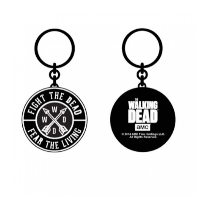 Walking Dead Fight The Dead Keychain