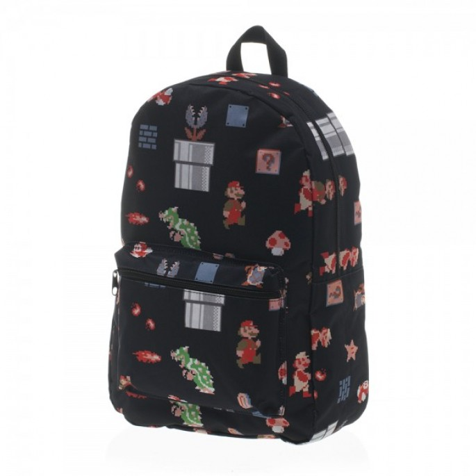 Nintendo Super Mario Sublimated Backpack