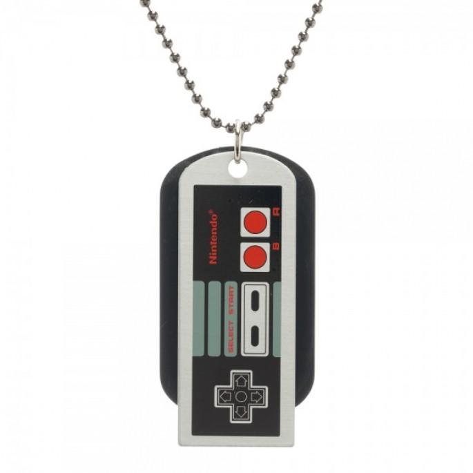 Nintendo Controller Dog Tag