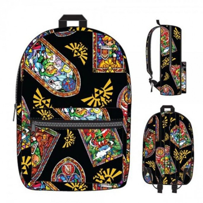 Nintendo Zelda Stained Glass Backpack