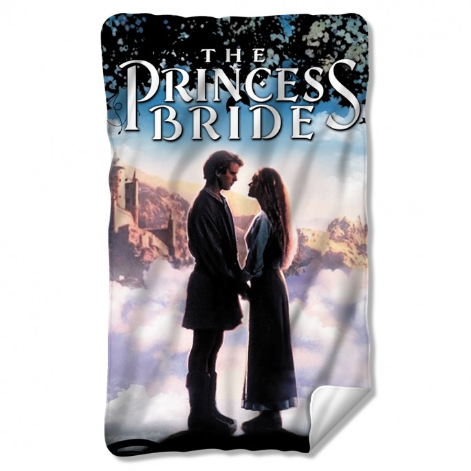 Princess Bride Storybook Love Fleece Blanket