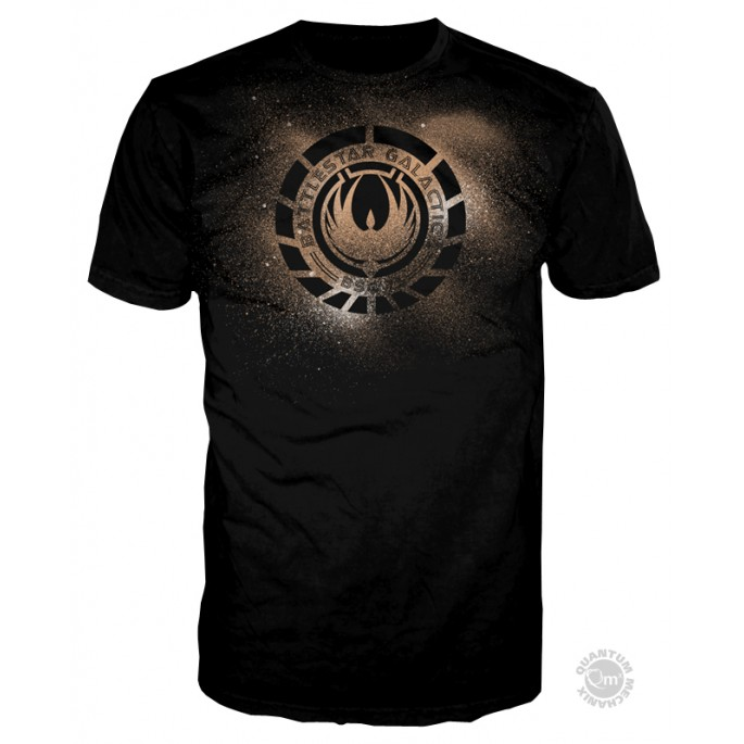 Battlestar Galactica Phoneix Logo Adult T-Shirt
