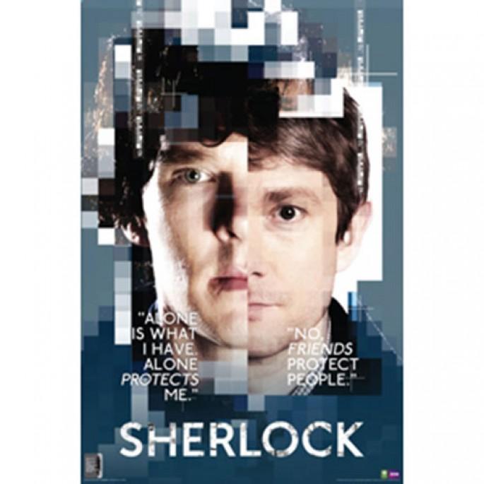 Sherlock Poster - Faces