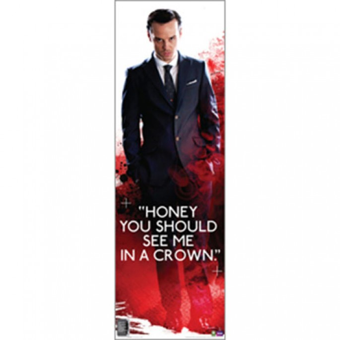 Sherlock Vertical Poster - Moriarty Honey You Should See Me In A Crown