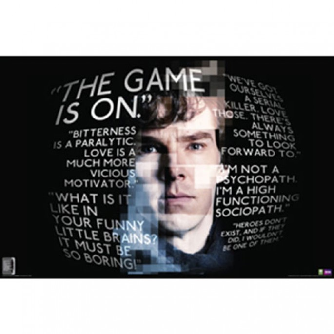 Sherlock Poster - Quotes
