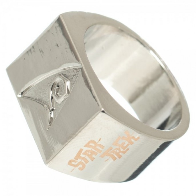 Star Trek Debossed Ring Small 6.5