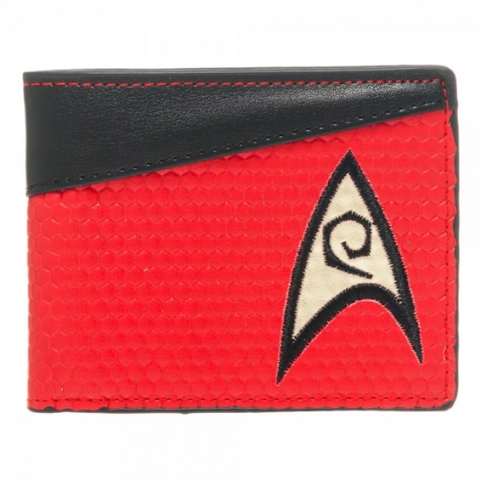 Star Trek Red Engineering Bi-Fold Wallet