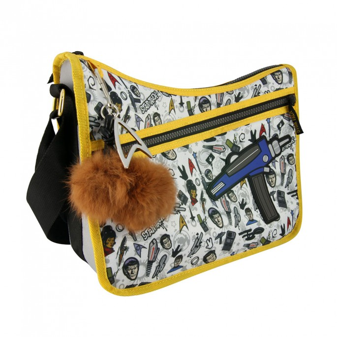 Star Trek Pattern Purse - with Tribble Key Fob