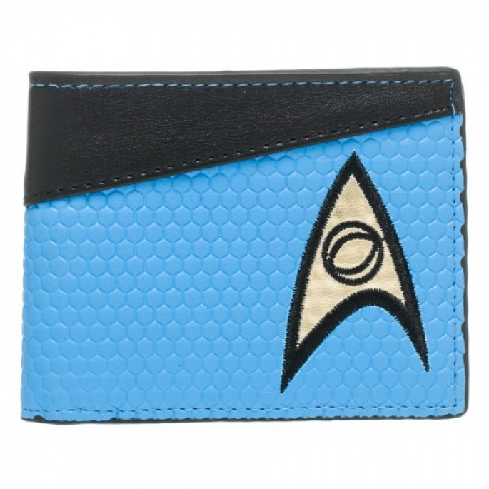 Star Trek Science Blue Bi-Fold Wallet