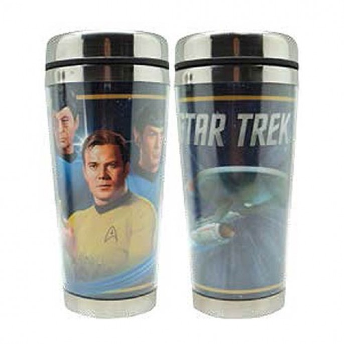 Star Trek Starfleet 16oz Travel Mug