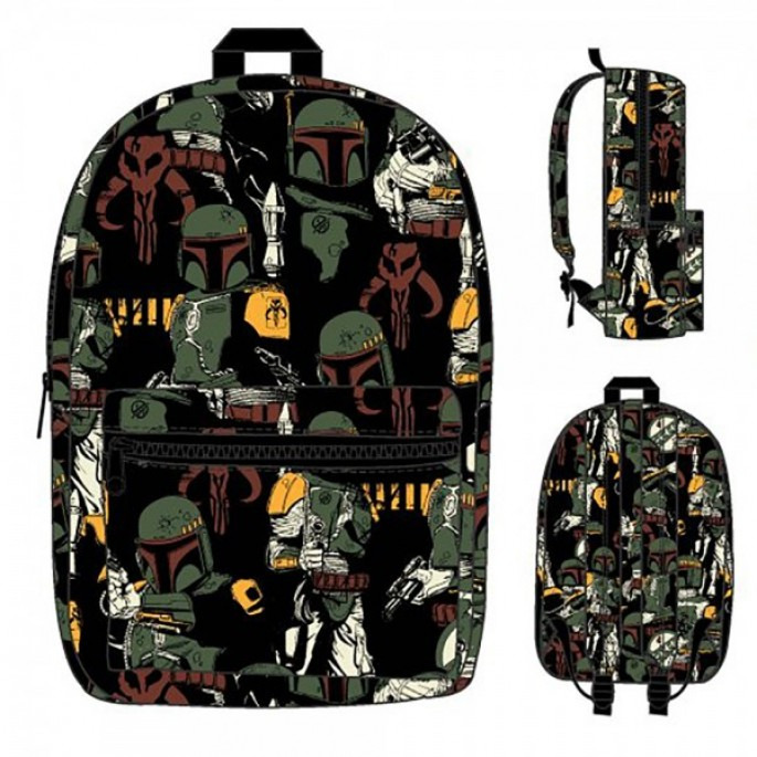Star Wars Boba Fett All Over Print Sublimated Backpack