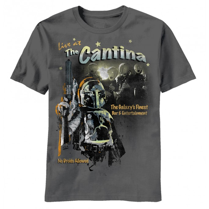 Star Wars Cantina Adult T-shirt