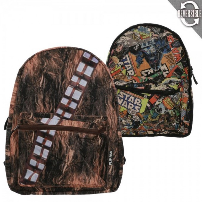 Star Wars Chewbacca Reversible Backpack