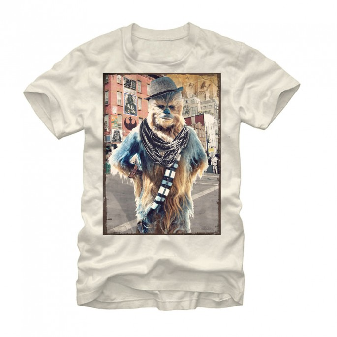 Star Wars Hipster Chewbacca Adult T-shirt