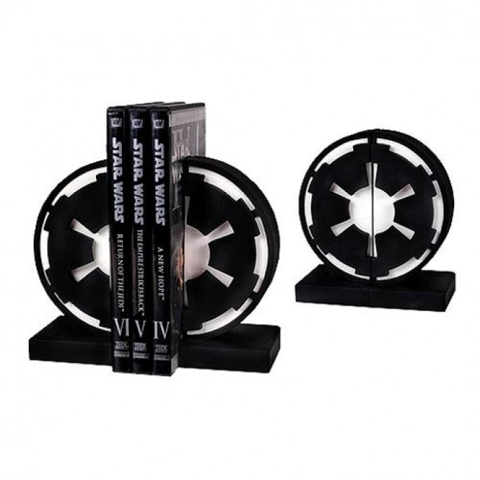 Star Wars Bookends - Imperial Seal Bookends
