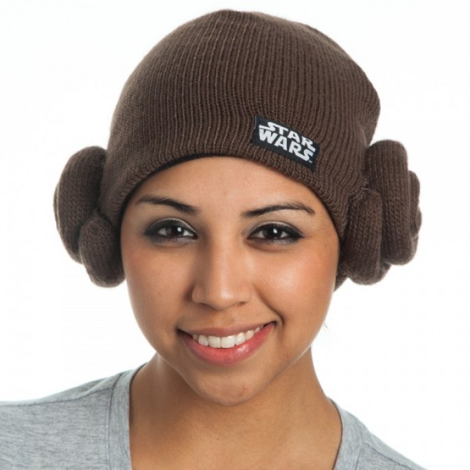 Star Wars Laya Buns Knit Beanie