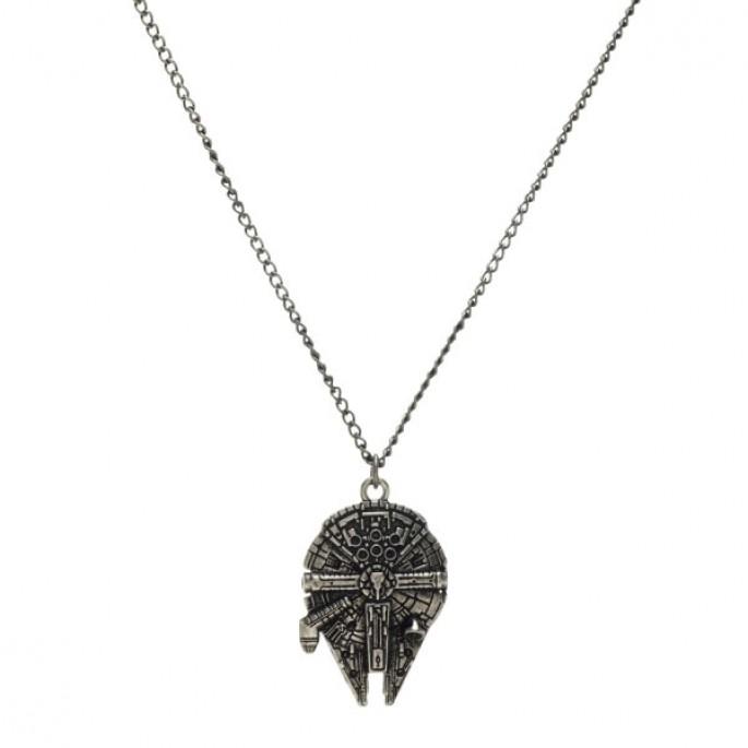 Star Wars Millenium Falcon Necklace