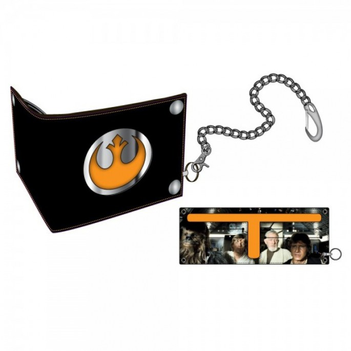 Star Wars Rebel Bi-Fold Snap Chain Wallet