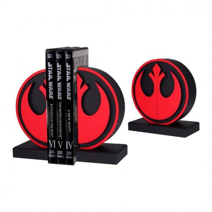 Star Wars Bookends - Rebel Seal Bookends